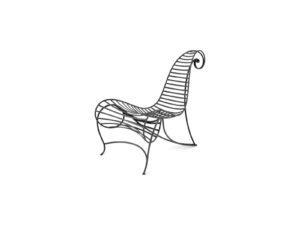 spine chair - Ceccotti Collezioni